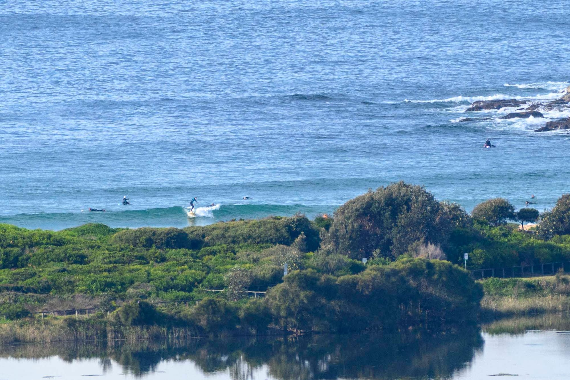Tiny but surfable Dee Why