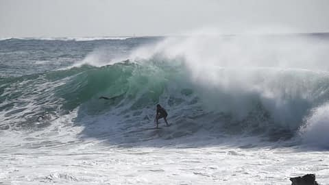 dee why big wave framegrab from video minute