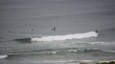dee why surfing video