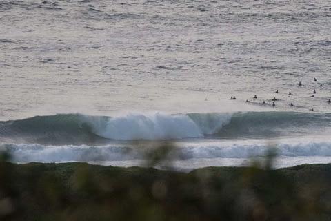 Dee Why beach big wave