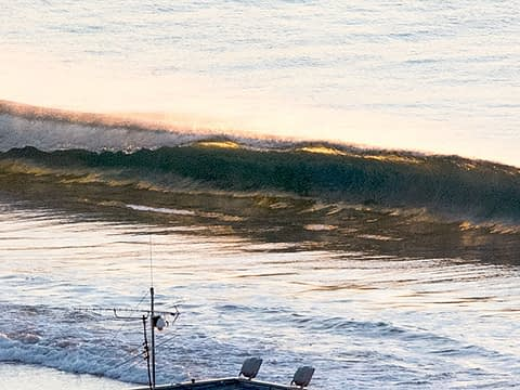 wave shutting down