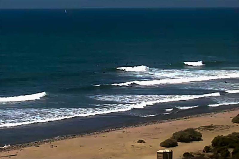 lower trestles surfers